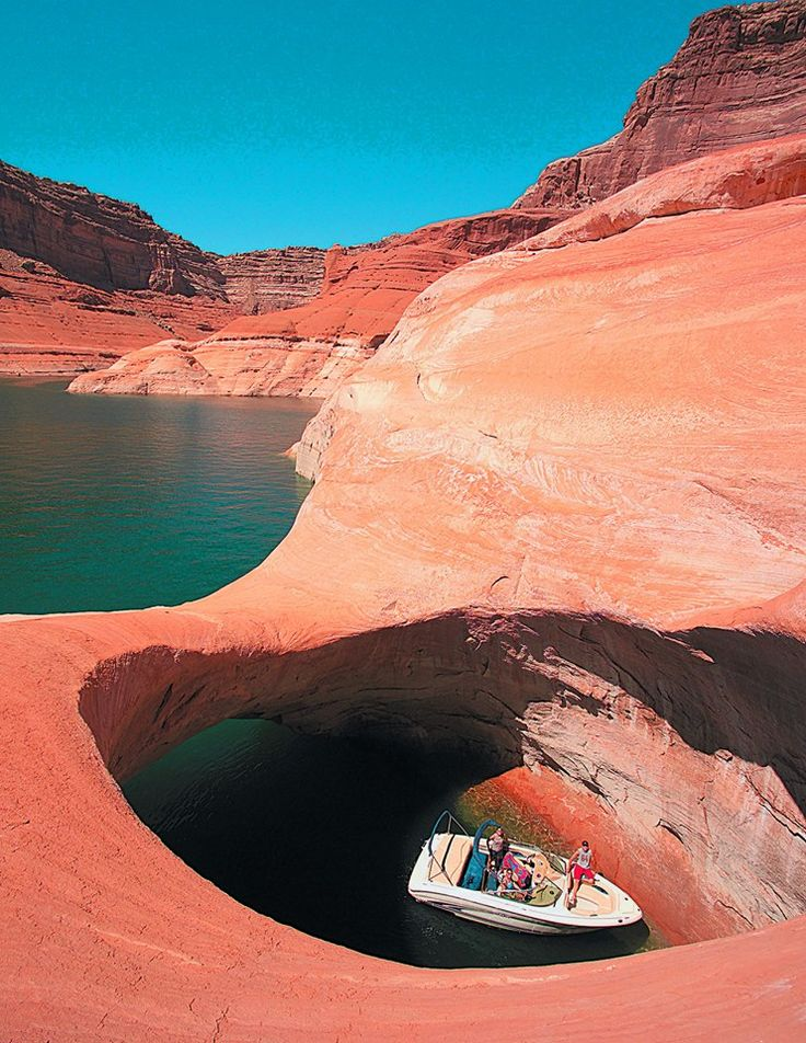 Lake Powell Rock Creek Canyon... One of my favorite places on the planet. Great for house boating and water sports