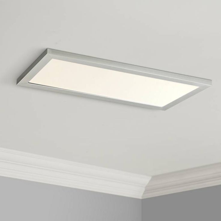 Maxim Sky Panel 23 1 2 Wide Silver Led Ceiling Light 53v52 Lamps Plus With Images Led Ceiling Lights Ceiling Lights Led Ceiling