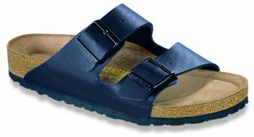 Birkenstock Arizona Soft Footbed Unisex Birko-Flor/Nubuck/Leather Sandals Birkenstock. $69.95. leather. Regular sizing fits medium to wide feet. Brand with the Tradition of Birkenstock since 1774. Perfect fit in two widths (Check the Width in the DropDown Narrow or Regular). Narrow sizing fits slender feet. Name:Arizona