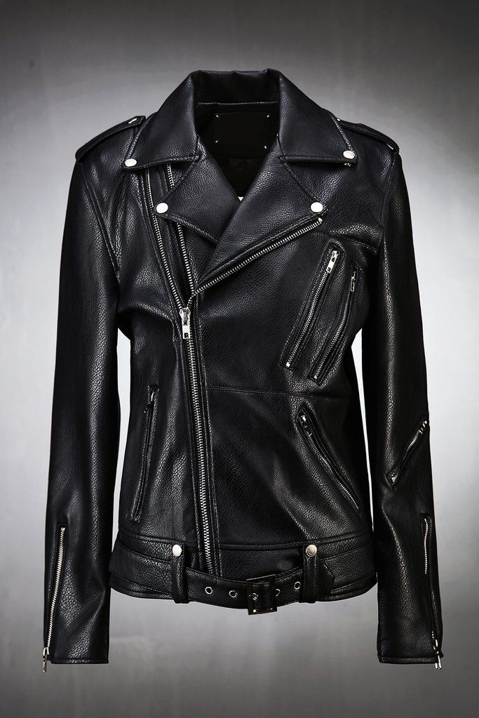 Double Zipper Biker Jacket