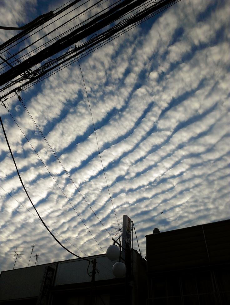 cloud. Oct.13.2012 @ Ichikawa, Chiba