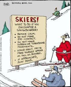 snowboarding quotes | Snowboarders | LOL | Why is everyone scared of us | Kings of the Hill | Lets all share and be happy Do you appreciate #snowboard fun? Click here http://lifenrich.co/shop
