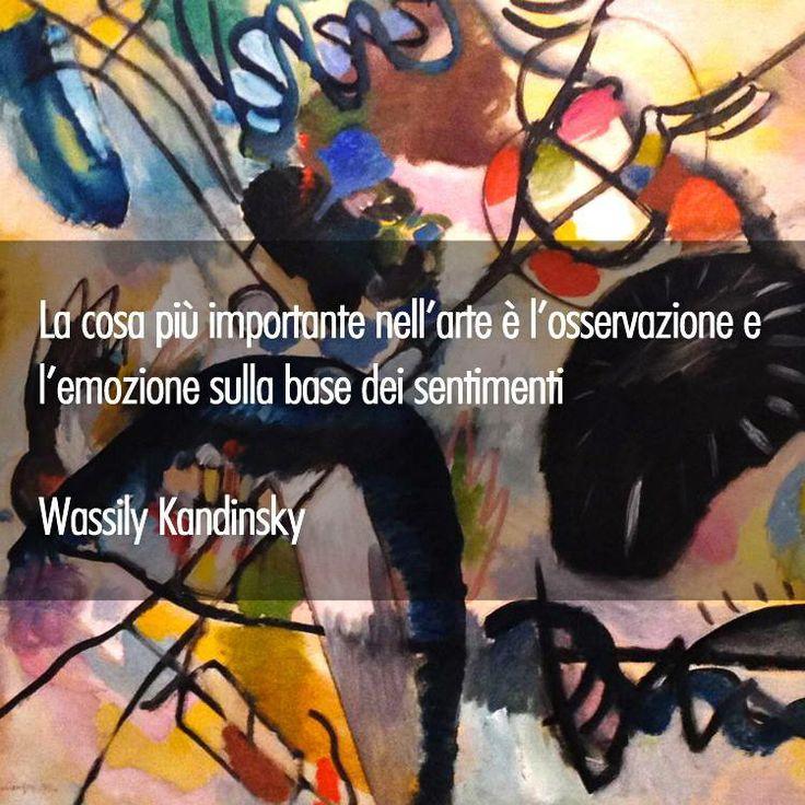 Fin dall'inizio della sua attività artistica, #Kandinsky si discosta dalle norme accademiche del realismo. Nelle sue opere gli oggetti si dissolvono e il ruolo principale è assunto da colore e forma #KandinskySciamano