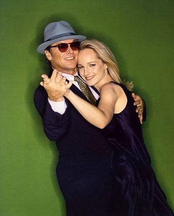 As good as it get . Jack Nicholson + Helen Hunt