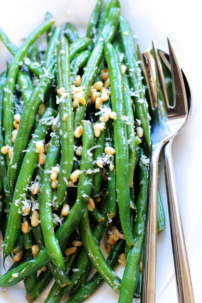 Green Beans with Parmesan and Lemon Butter Sauce | Green Valley ...
