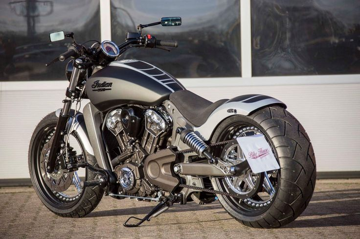 Awesome custom Indian Scout