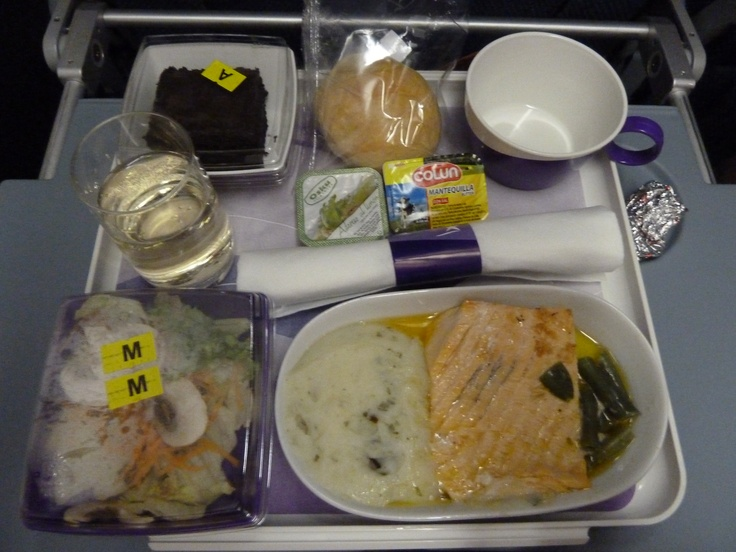 LAN airlines meal...the best way to fly Coach!!!