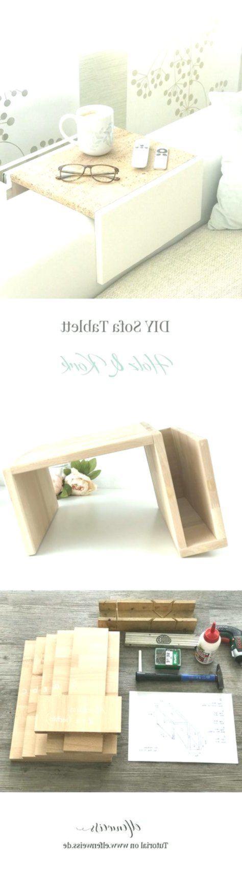 Mach es dir selbst: Sofa Tablett auf einer Wiese mit Korkhose #homeaccents #hom …, #auf #d…