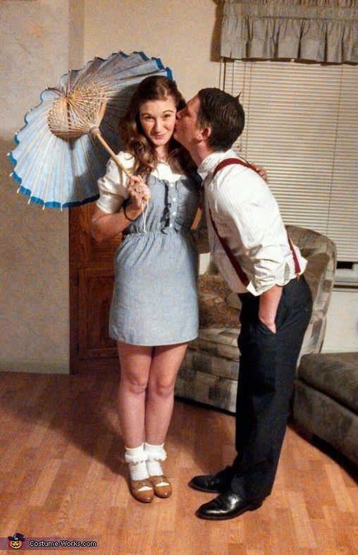 Darla and Alfalfa - Halloween Costume Contest