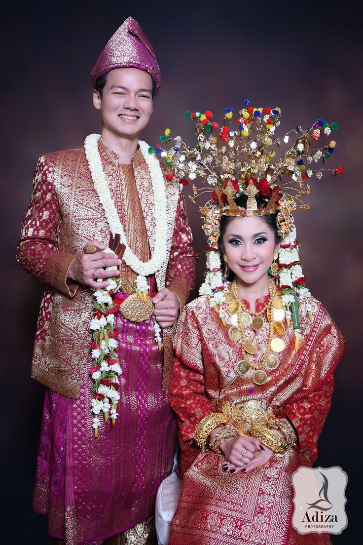 Musi Rawas I South Of Sumatera Taditional Wedding Outfit
