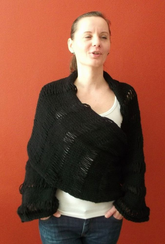 Multifunctional Transformer Shawl