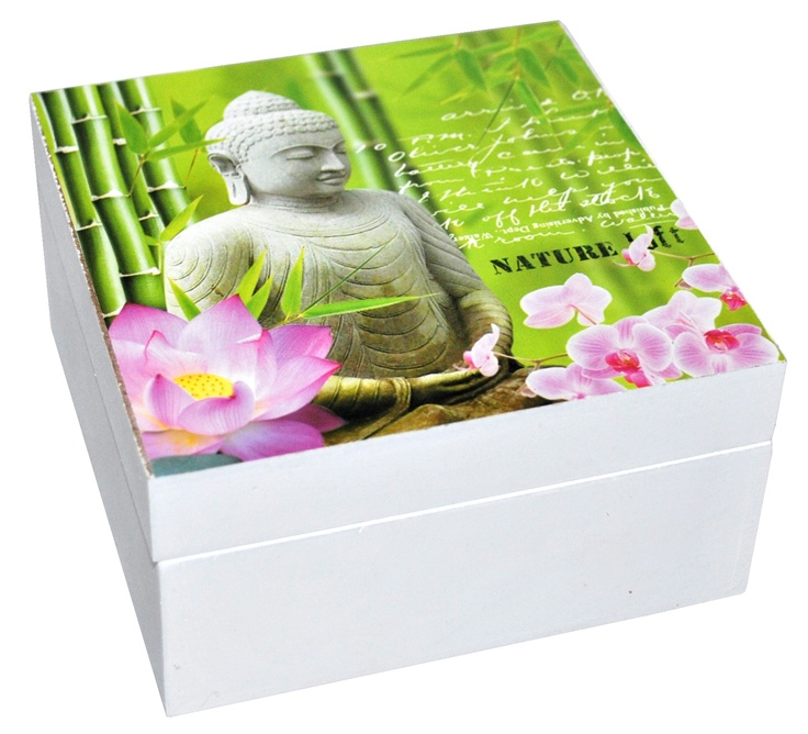 Storage has a new design!  Wooden storage box, Buddha model, 29,99 lei, from Bam Boo at Baneasa Shopping City!