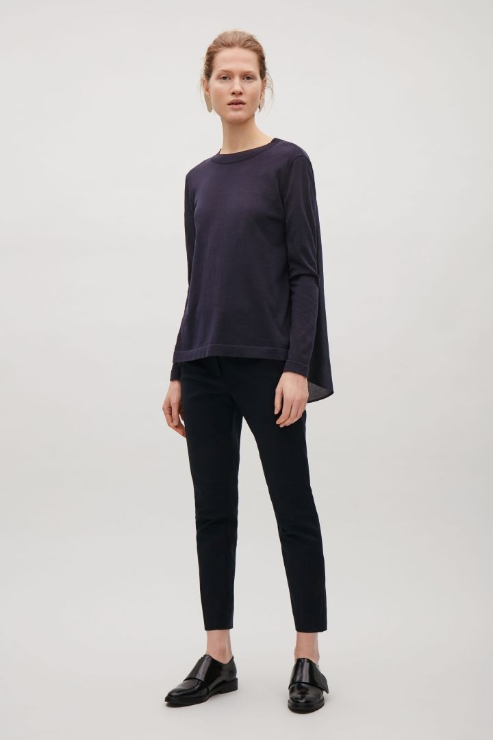 COS | Jumper with drawstring back