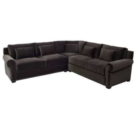 Sectionals   A Big Find In Living Room Furniture, The Miles Sectional at Z Gallerie