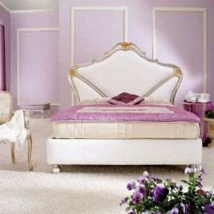 Letto Smeraldo in pelle soft con cornice in argento e orohttp://www.lineahouse.it/product.php?id_product=68