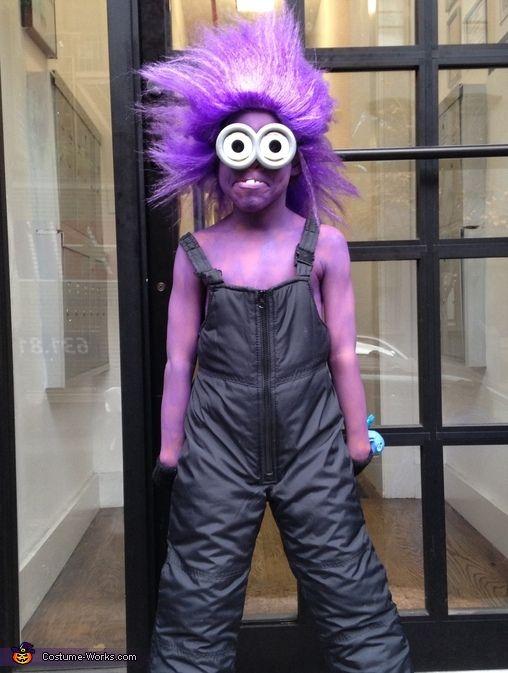 Purple Minion - 2013 Halloween Costume Contest