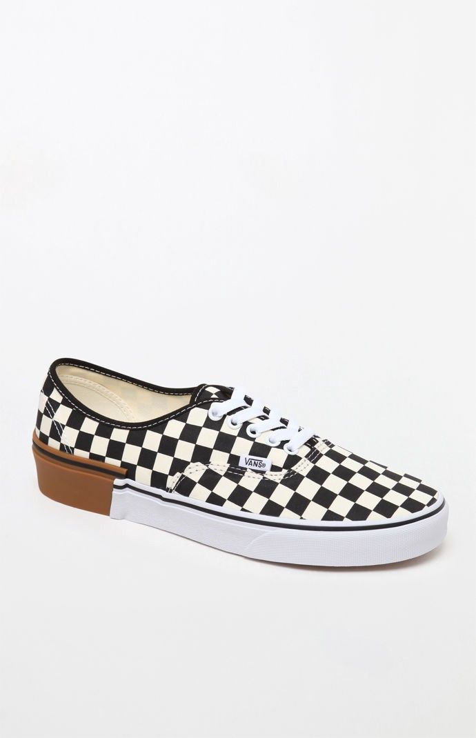 d0eb749d7c6d7f VANS Vans Gum Block Checkerboard Authentic Shoes.  vans  shoes ...