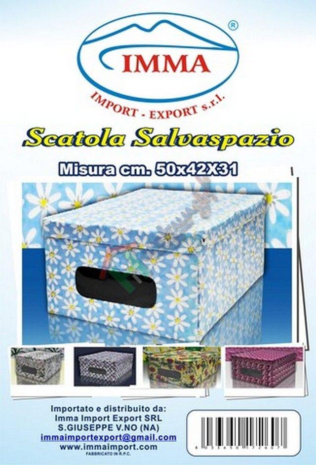SCATOLA V SALVASPAZIO 42x50x31