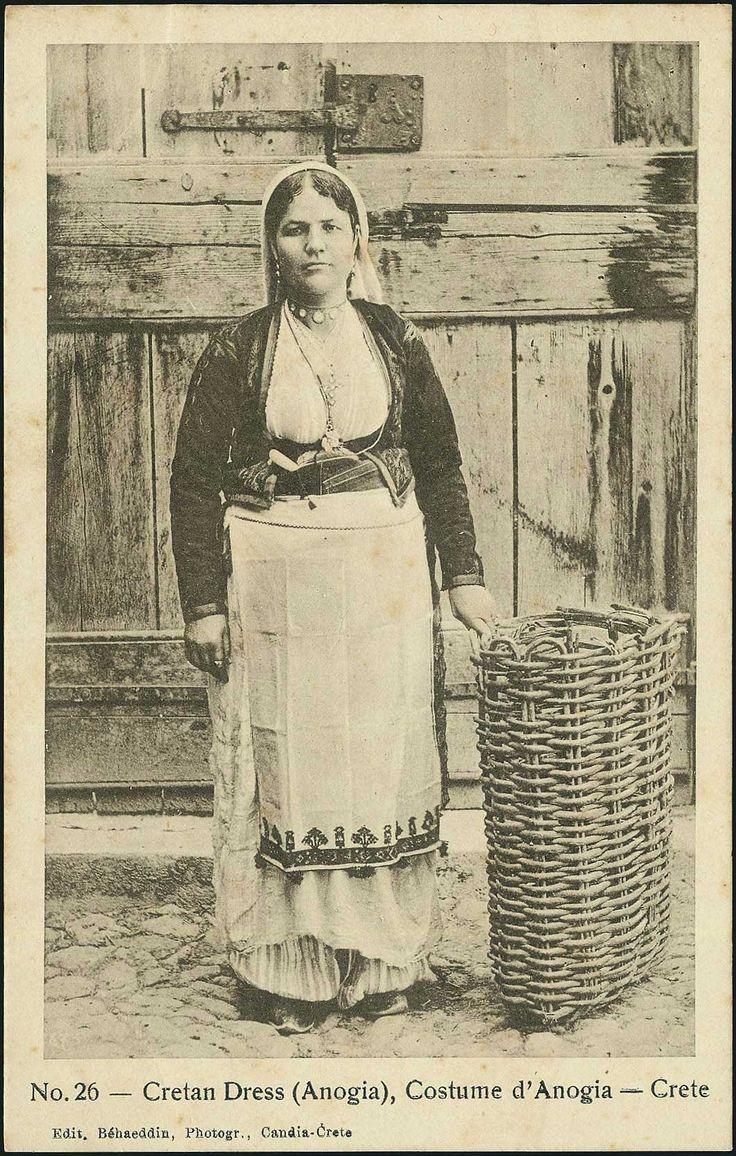 Cretan dress (Anogia),1906-1907, R.Behaeddin