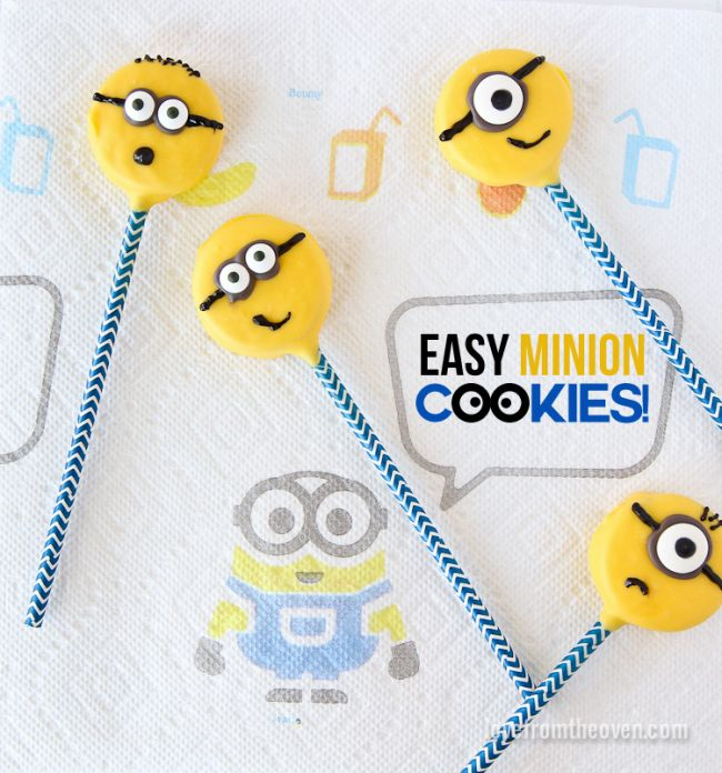 Easy Minion Cookies