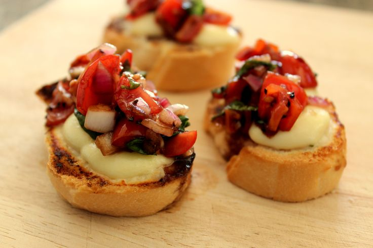 An amazingly simple appetiser / entree to make...incredibly impressive to serve...completely yummy to eat!!  http://www.diaryofafoodgeek.com/bruschetta-balsamic-tomatoes/