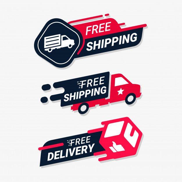 Free Shipping Delivery Service Logo Badge V 2020 G Blestyashie