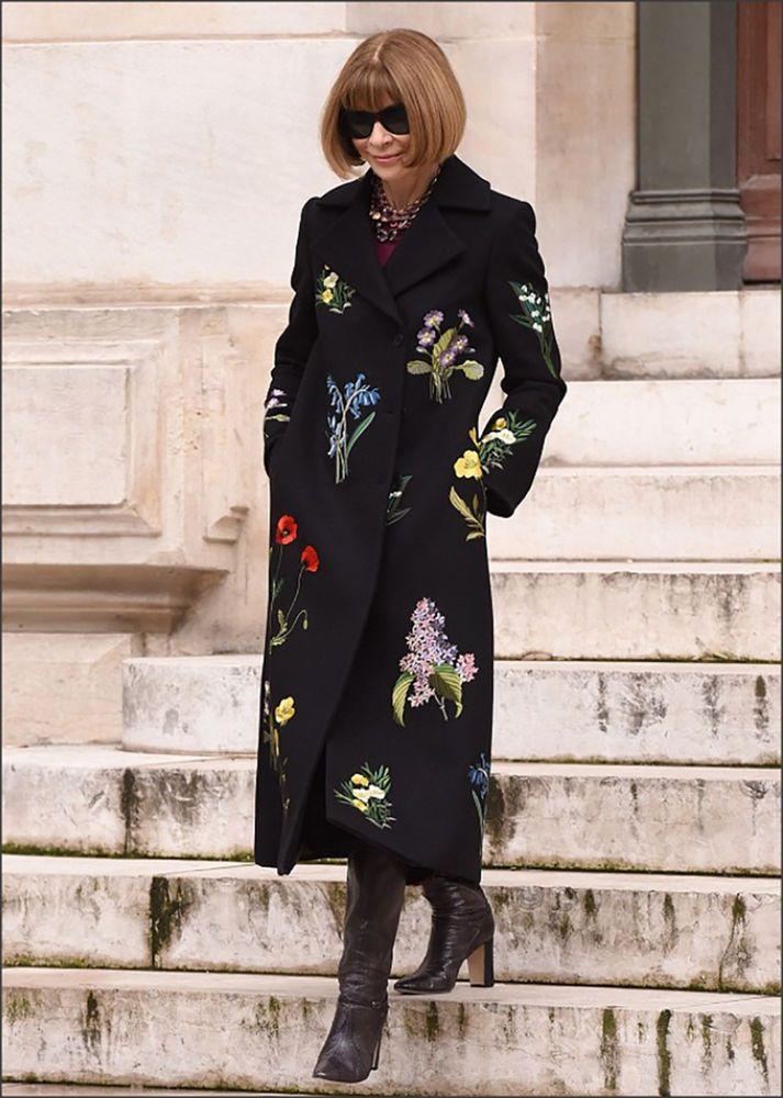 $4K NWT Stella McCartney Coat Nadia Black Wool Blend Floral Embroidered 42 Sale! #StellaMcCartney #BasicCoat