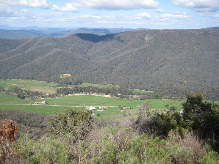 Nathans Place - View from Powers Lookout, a local natural attraction