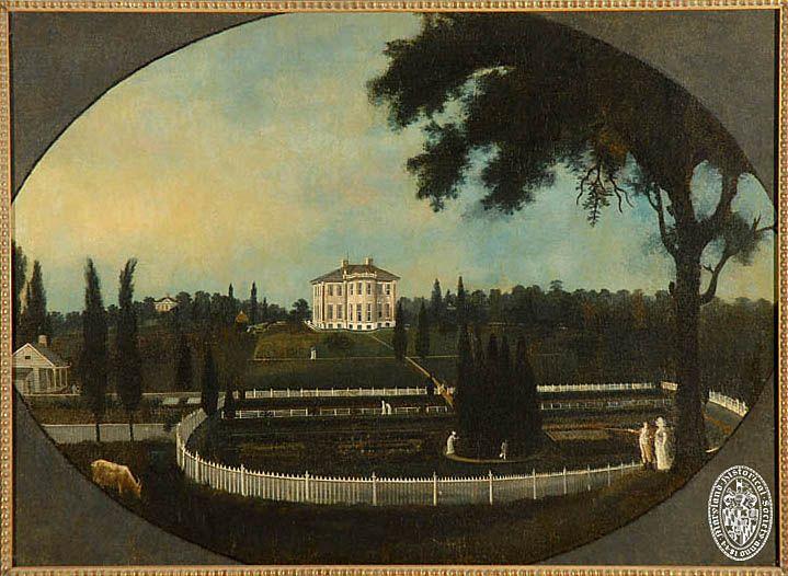 Создатель:  Гай, Фрэнсис, 1760-1820 Описание:  Болтон, вид с юга. Холст, масло Фрэнсиса Гая. Дата Оригинал:  ок 1805