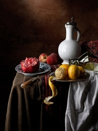 Vermeer Still Life - Prop Idea - Color palette