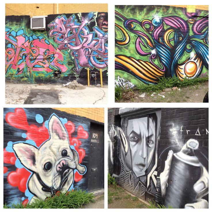 Street art in Winnipeg