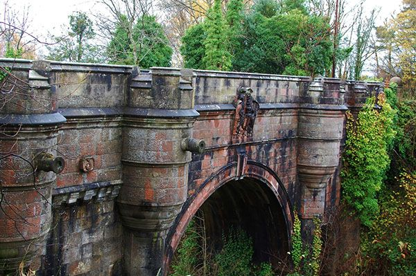 A small bridge in Scotland where canines go to end it all