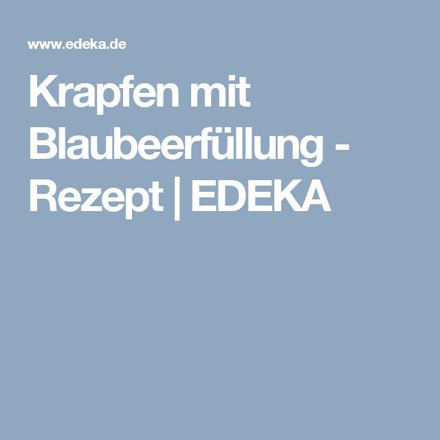 Krapfen mit Blaubeerfüllung - Rezept | EDEKA