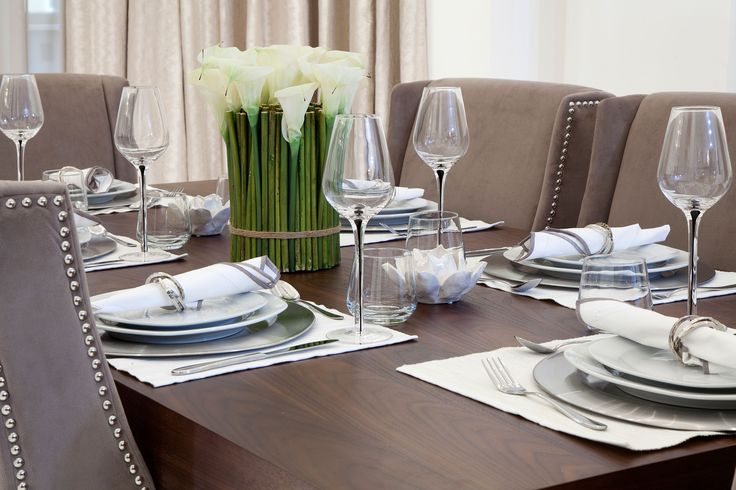 Dining Table Setting   JHR Interiors
