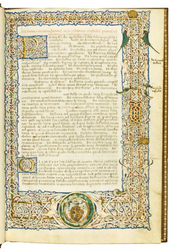 Julius Firmicus Maternus, Matheseos libri VIII, in Latin [Italy (Rome)] 1468] | lot | Sotheby's