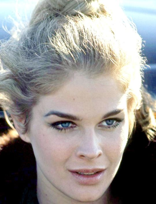 Candice Bergen. Photo by Milton Greene, 1966.