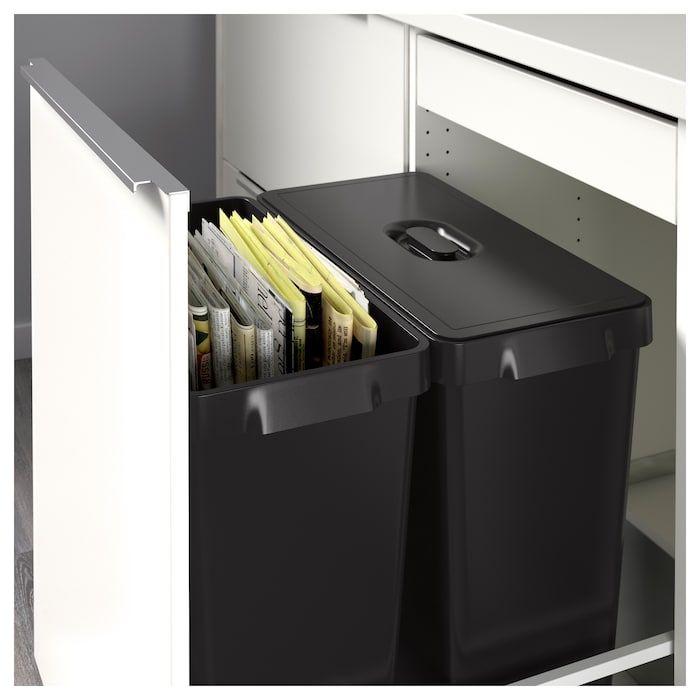 Ikea Us Furniture And Home Furnishings Recycling Bins Kitchen Waste Bin Ikea