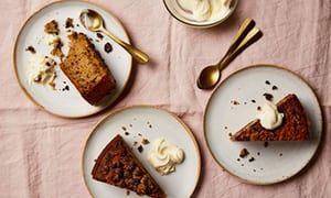 Thomasina Miers' recipe for fig, dark chocolate and brandy cake | Life and style | The Guardian