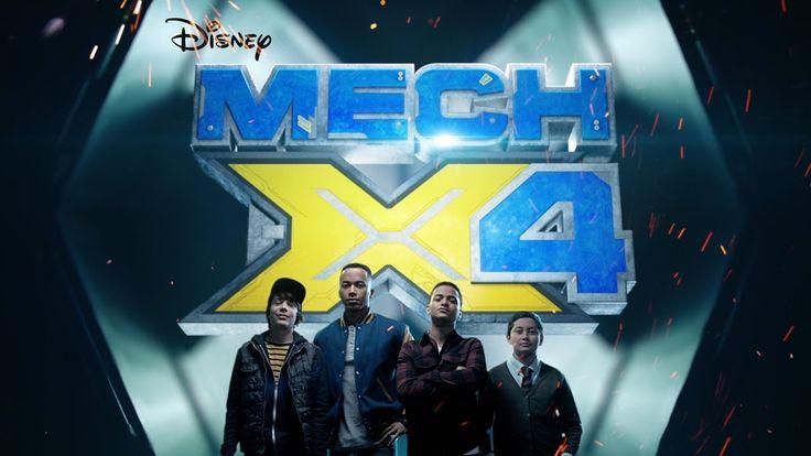 Heroes Trailer   MECH-X4   Disney Channel