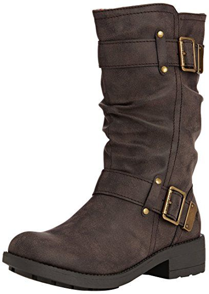Rocket Dog Trumble, Women's Slouch Boots, Brown (Galaxy Brown), 5 UK