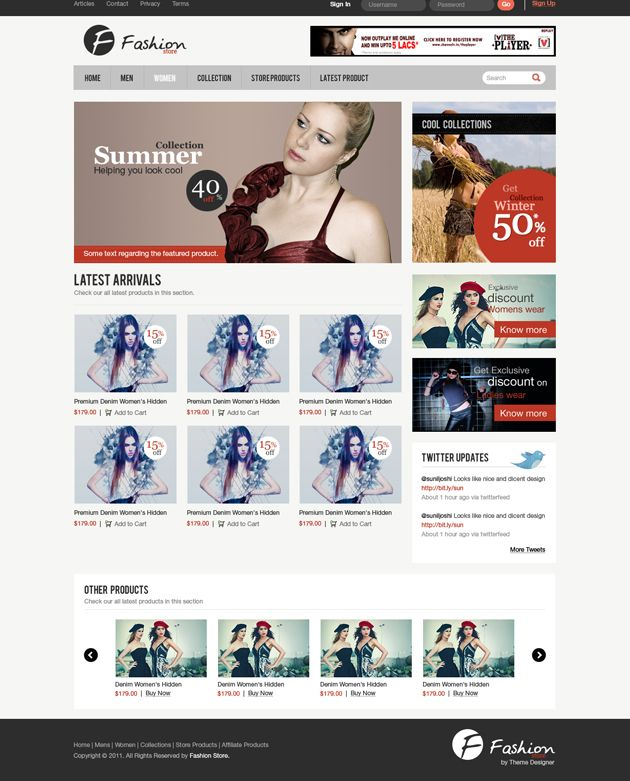 86 best templates images on pinterest website template web clean e commerce web template psd free psd daily download high quality pronofoot35fo Choice Image
