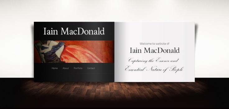New concept for Toronto Artist Iain MacDonald...http://bit.ly/SYdPw5  Site coming soon http://artintoronto.ca/