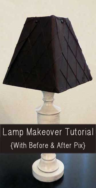 Best 25 lamp makeover ideas on pinterest lamp shade for Redoing lamp shades