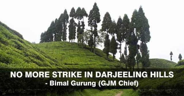 No More Strikes in Hills - GJM Chief Gorkha Janmukti Morcha chief Bimal Gurung said his party would not call any more bandhs in the Darjeeling hills during the festive season calling today's shutdown a success but unwittingly accepting that such disruptions in the peak tourist season could backfire. Erik Sorensen from Denmark and other tourists in the toy train in Darjeeling on Wednesday. The Darjeeling-Ghum-Darjeeling toy train ran unhindered with police protection. More than 100 tourists…