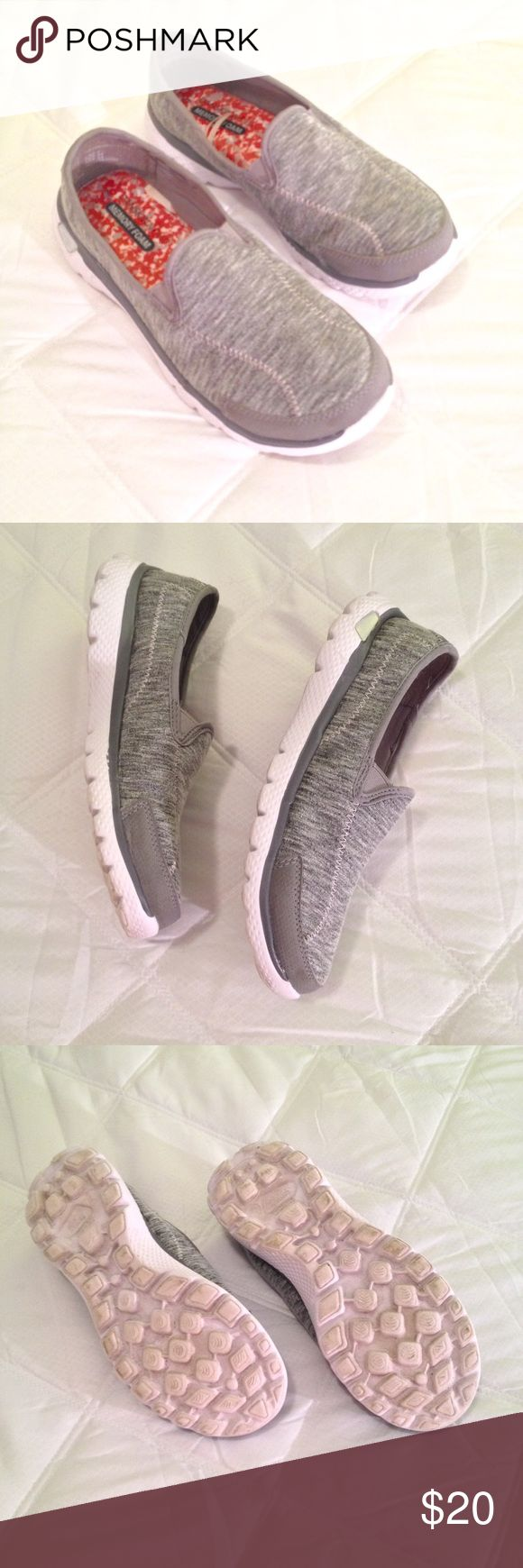 DANSKIN Now Memory Foam Sneaker Great condition, memory foam sneaker. Grey with white sole. Danskin Now Shoes Athletic Shoes