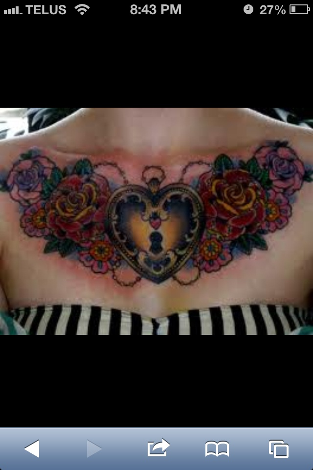 Chest tattoo WANT this!!