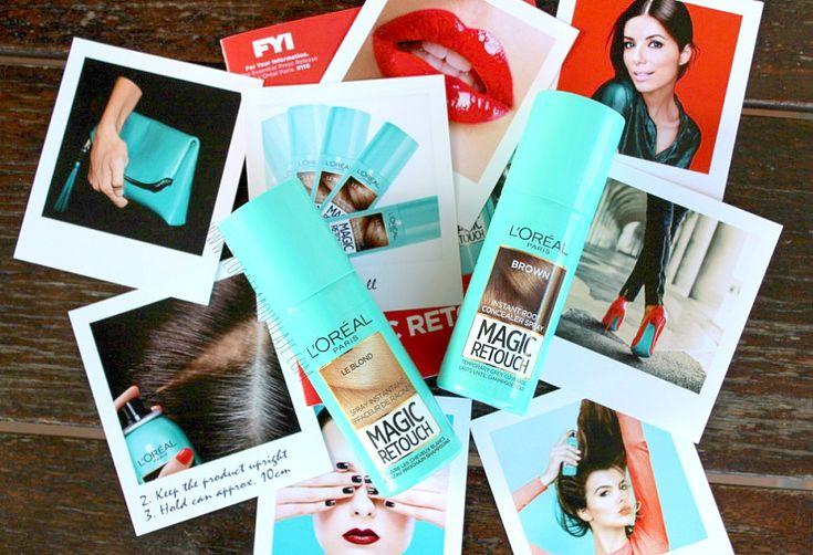 Magic Retouch de L'Oréal Paris, un spray para cubrir las canas