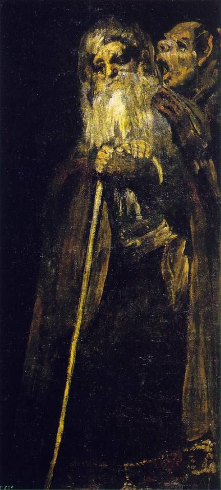 Dos Ancianos de Francisco de Goya