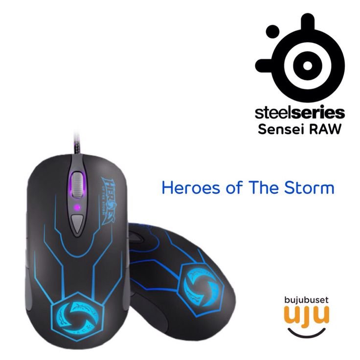 Steelseries - RAW Heroes of The Storm  IDR 1.039.999