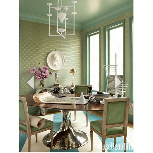 Julian Chichester Dakota Wood Oval Table